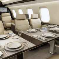 Private Jet Meal