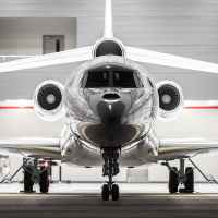 Private Jet Falcon8X