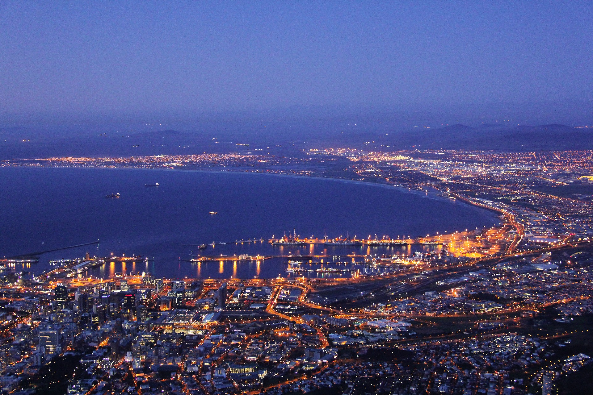 Cape Town bay