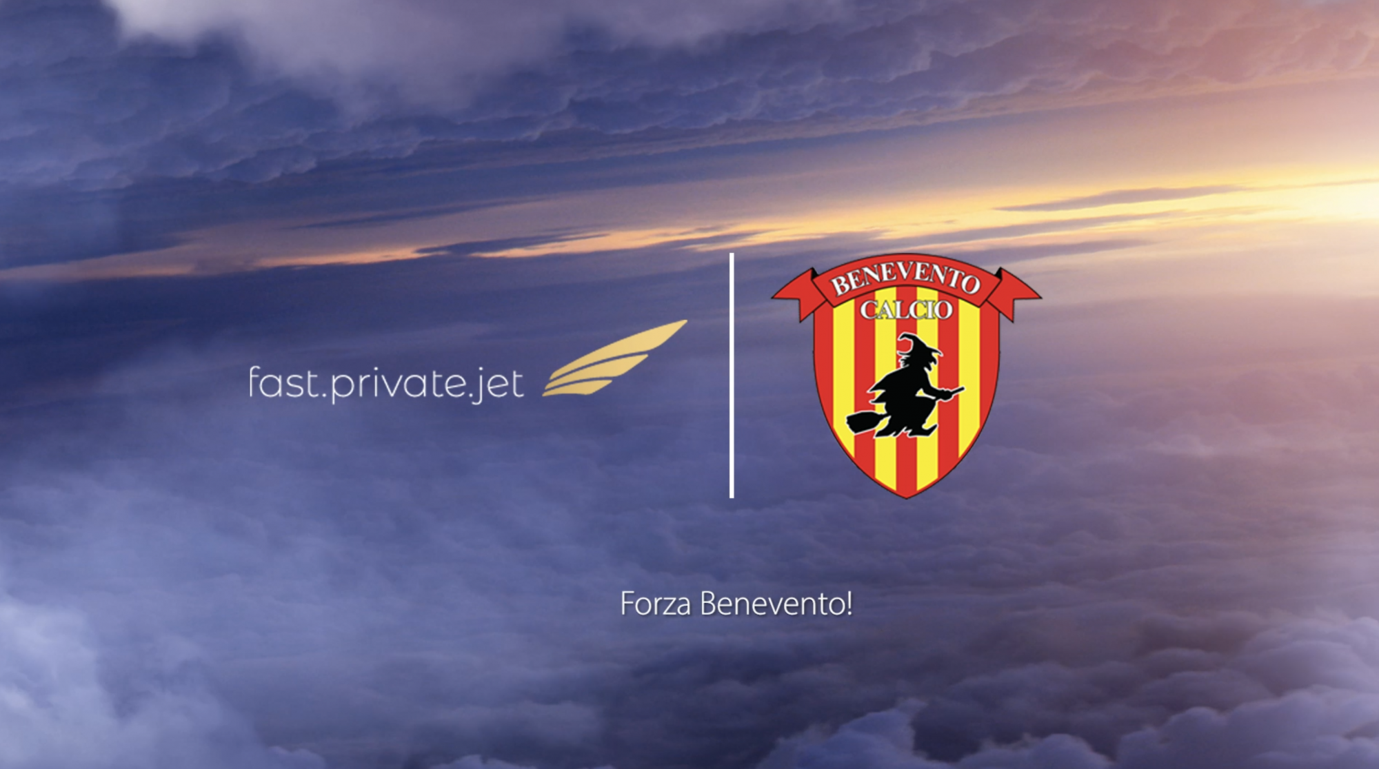 Benevento Calcio - Fast Private Jet